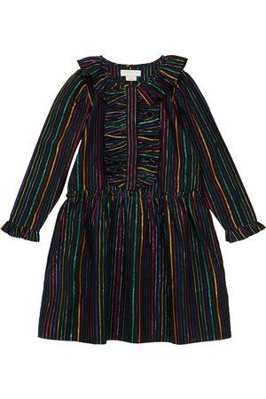 Stella McCartney Striped cotton-blend dress