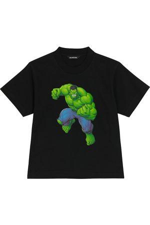 Balenciaga Kids Printed cotton T-shirt