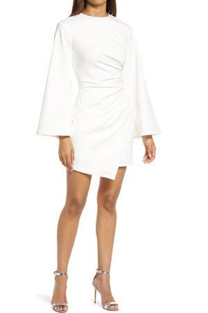ELLIATT Women's La Fontelina Long Sleeve Stretch Cotton Cocktail Minidress