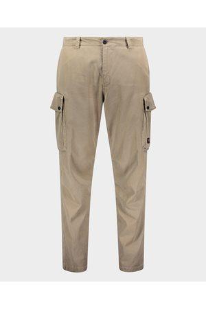 Paul & Shark Cotton & Tencel stretch cargo trousers