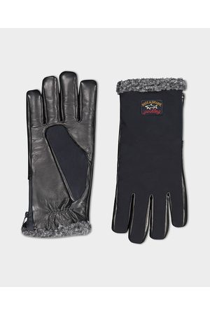 Paul & Shark Men Gloves - 130 High density Save the Sea glove with zip