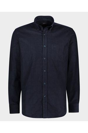 Paul & Shark Men Shirts - Cotton velvet Shirt