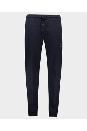 Paul & Shark Super soft stretch jogging trousers with reflex Logo