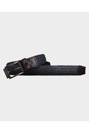 Paul & Shark Men Belts - Elastic belt with leather trim