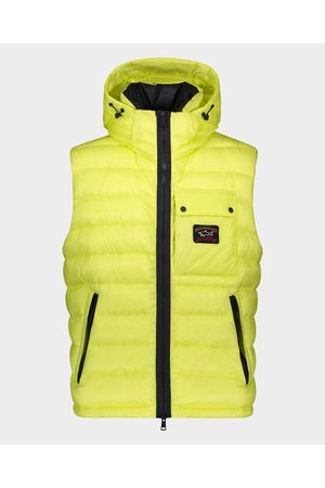Paul & Shark 7x1000' nylon Gilet Ripstop with feather 1000 fill power