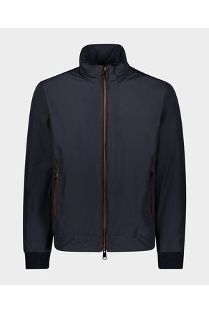 Paul & Shark Typhoon jacket Save the Sea with leather details