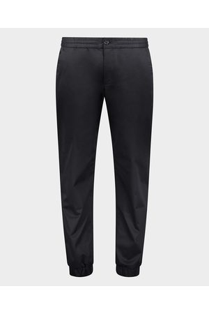 Paul & Shark Cotton & Tencel stretch CHINOTENCEL trousers with coulisse