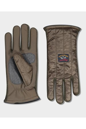 Paul & Shark Quilted glove with iconic badge