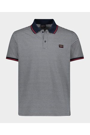 Paul & Shark Organic cotton Polo jersey with iconic badge