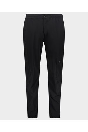 Paul & Shark Men Cargo Pants - Cargo trousers with coulisse in nylon stretch Econyl®