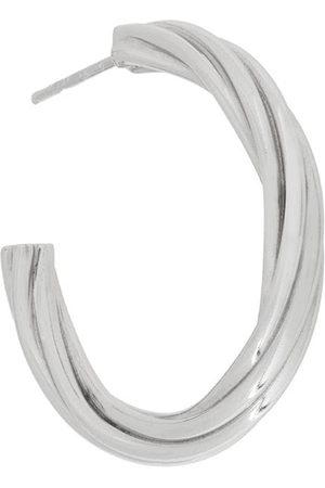 Maria Black Women Hoop - Arsiia hoop 30 earring - Metallic