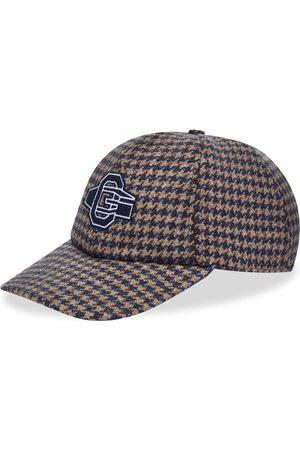 OFFICINE GENERALE Men Caps - Logo Houndstooth Baseball Cap