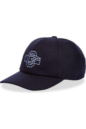 Officine Générale Men Caps - Logo Wool Baseball Cap