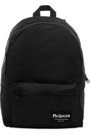 Alexander McQueen Men Rucksacks - Grafitti Logo Backpack
