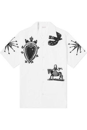 Alexander McQueen Men Shirts - Printed Vacation Shirt