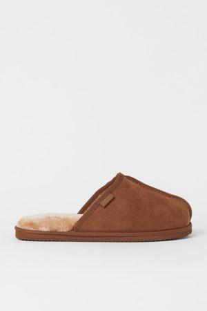 H&M Men Slippers - Lined Slippers