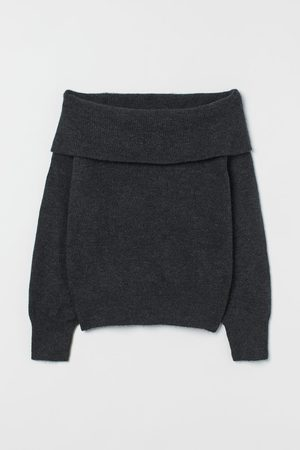 H & M Off-the-shoulder Sweater