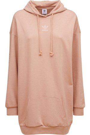 adidas Hooded Sweatshirt Dress