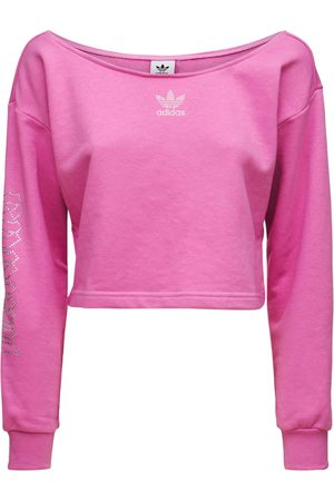 ADIDAS ORIGINALS Cropped Slouchy Crew Sweatshirt