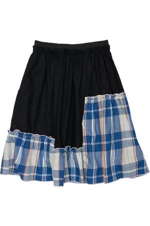 INFANTIUM VICTORIA Tartan Organic Cotton Skirt
