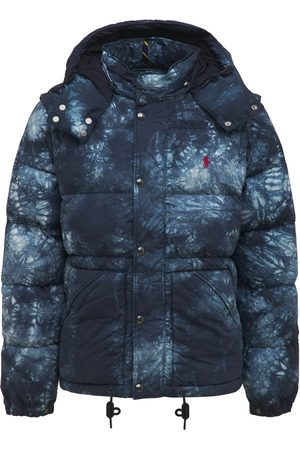 POLO RALPH LAUREN Tie Dye Cotton Bomber Jacket