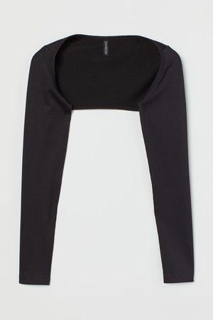 H&M Ribbed Bolero Sweater