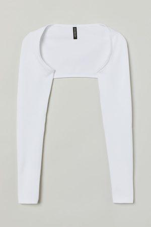 H&M Women Boleros - Ribbed Bolero Sweater