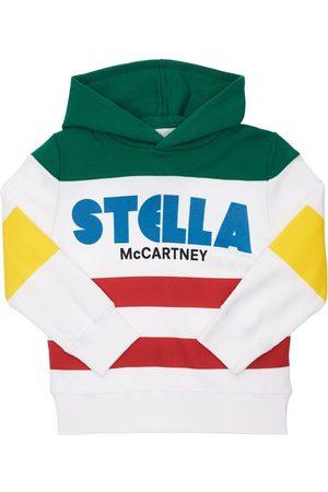 STELLA MCCARTNEY KIDS Logo Organic Cotton Hoodie