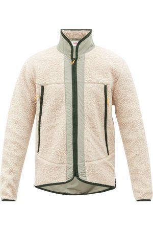 Orlebar Brown Men Fleece Jackets - Baird Panelled Fleece Zip-up Jacket - Mens