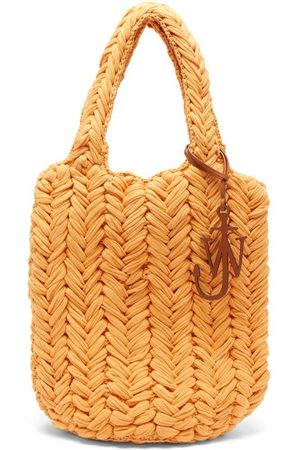 JW Anderson Women Purses - Shopper Hand-crocheted Cotton Tote Bag - Womens