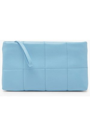 Boohoo Womens Quilted Basic Clutch Bag - - One Size