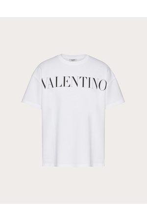 VALENTINO UOMO Men T-shirts - Cotton T-shirt With Valentino Print Man / 100% Cotton L