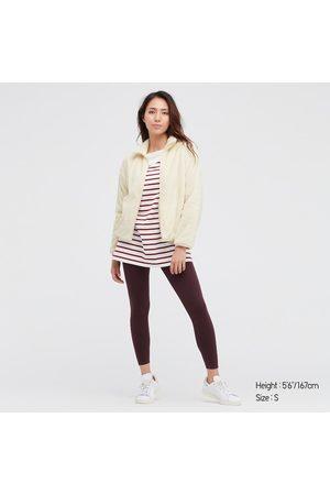 UNIQLO Women's Fluffy Yarn Fleece Full-Zip Jacket, , XXS