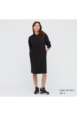 UNIQLO Women's Sweat Hoodie Long-Sleeve Dress, , XS