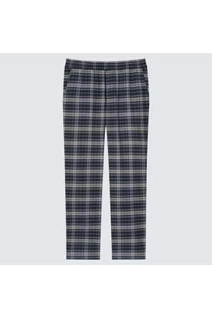 UNIQLO Men's Stretch Flannel Easy Ankle Pants, , S