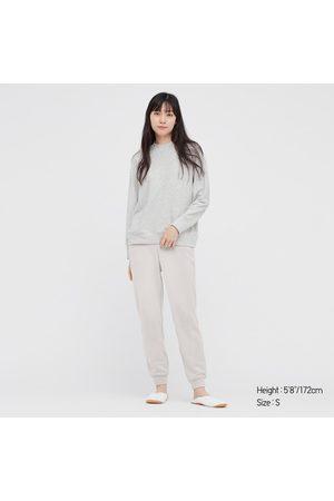 UNIQLO Women Long sleeves - Women's Ultra Stretch Long-Sleeve Set, Gray, XS