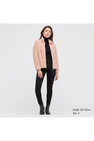UNIQLO Women Fleece Jackets - Women's Fluffy Yarn Fleece Full-Zip Jacket, , XXS