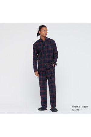 UNIQLO Men Long sleeves - Men's Flannel Long-Sleeve Pajamas, , S