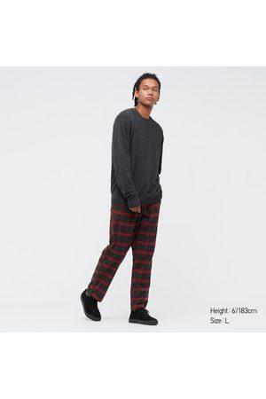 UNIQLO Men Stretch Pants - Men's Stretch Flannel Easy Ankle Pants, , S