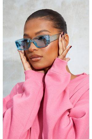 PRETTYLITTLETHING Women Sunglasses - Crystal Sqaure Frame Sunglasses