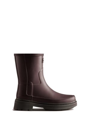 Hunter Women Rain Boots - Women's Refined Stitch Detail Short Rain Boots