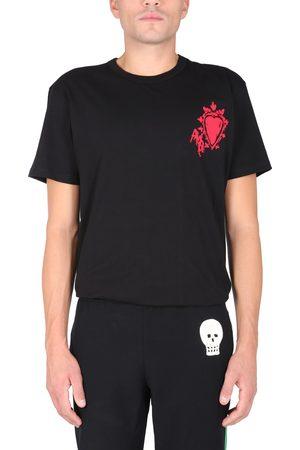 "Alexander McQueen ""heart skull"" t-shirt"