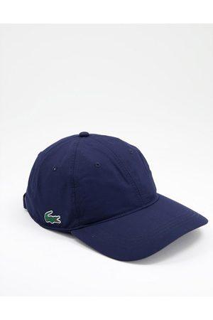 Lacoste Side logo baseball cap in navy