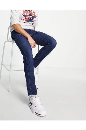 Levi's 512 slim tapered fit jeans in dark navy wash