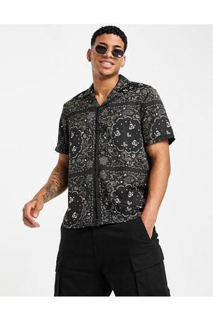 River Island Paisley print shirt in