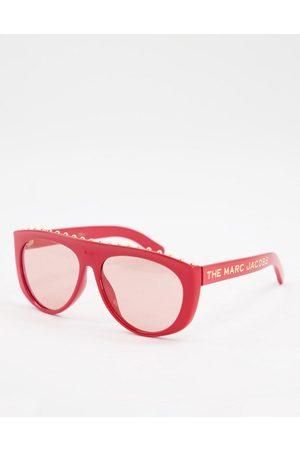 Marc Jacobs 492/S round lens frame detail sunglasses