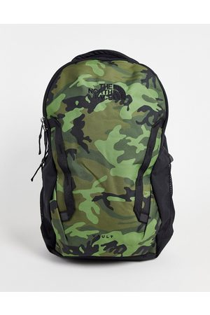 The North Face Vault backpack in camo