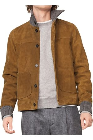 OFFICINE GENERALE French Suede Jacket