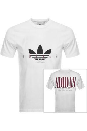adidas Trefoil Script T Shirt