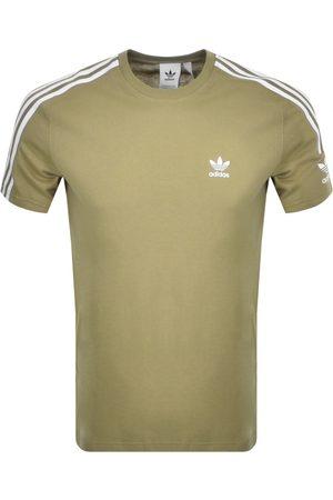 Adidas Originals Tech 3 Stripe T Shirt